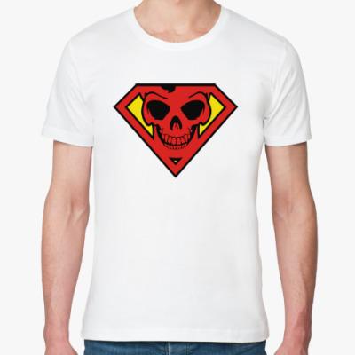 Футболка из органик-хлопка Skull Superman