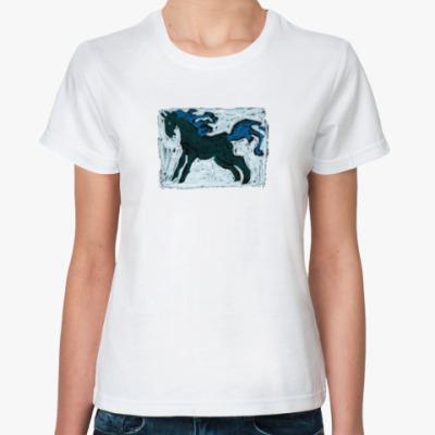 Классическая футболка Смелый скакун