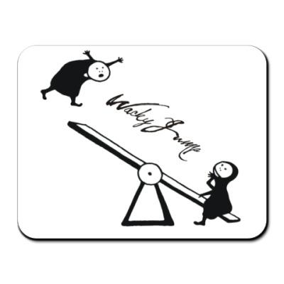 Коврик для мыши Качели