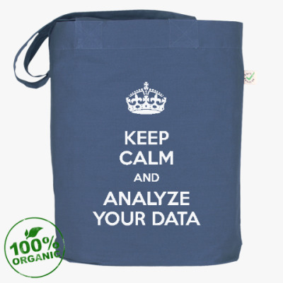 Сумка keep calm and analyze your data