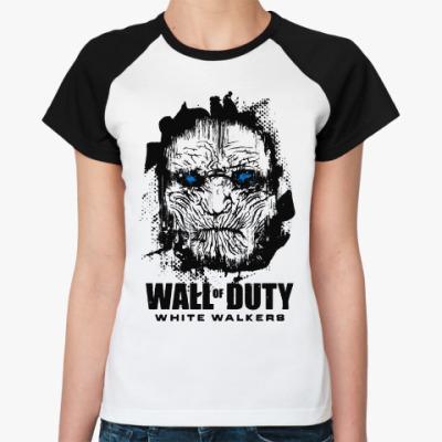 Женская футболка реглан Белые ходоки Игра престолов
