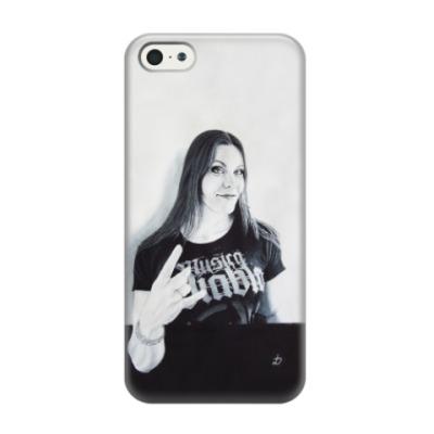Чехол для iPhone 5/5s Floor Jansen
