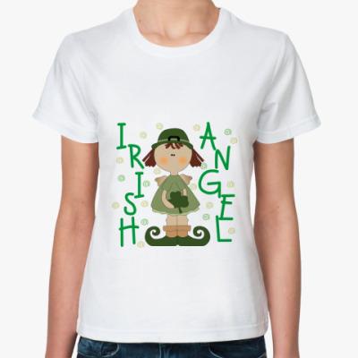 Классическая футболка Irish Angel