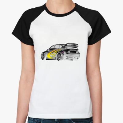 Женская футболка реглан   Got Impreza?