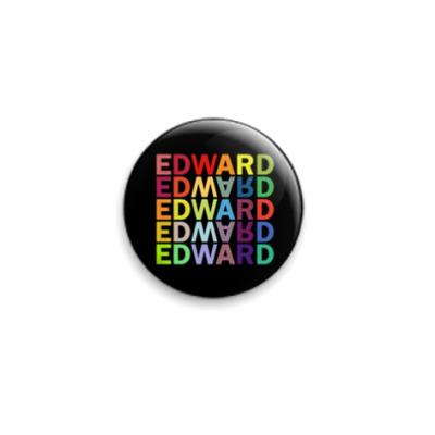 Значок 25мм Edward