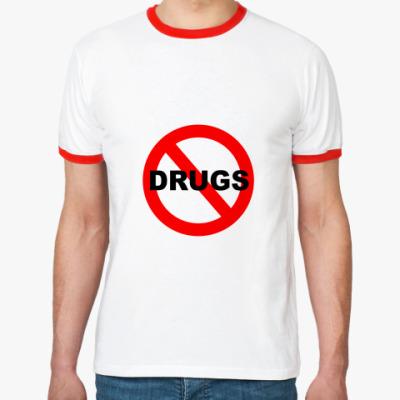 Футболка Ringer-T Нет наркоте