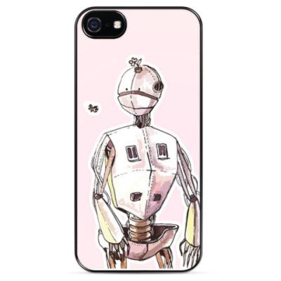 Чехол для iPhone Добрый робот