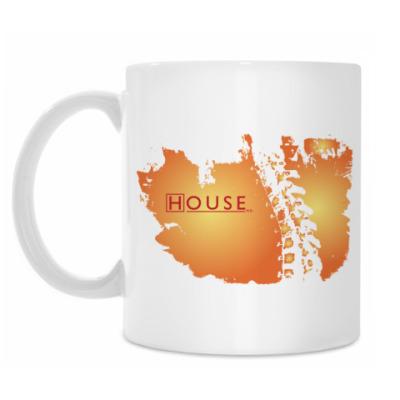 Кружка HOUSE 'orange'