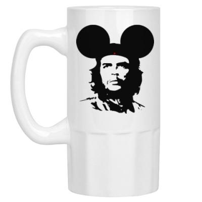 Пивная кружка  Mickey Mouse Che Guevara