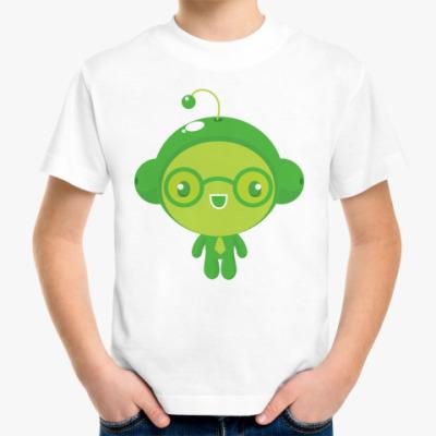 Детская футболка Зеленый чиброс