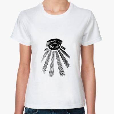 Классическая футболка Глаз Гора