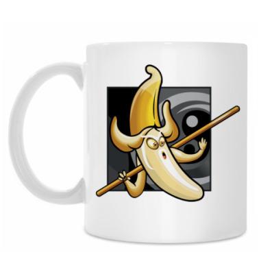 Кружка Банан с палкой
