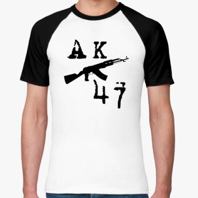 Футболка реглан  АК-47