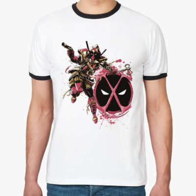 Футболка Ringer-T Deadpool Assassin
