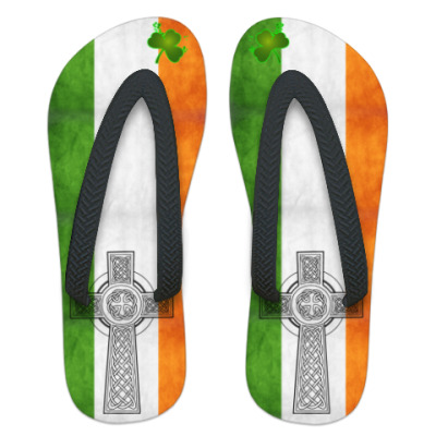 Шлепанцы (сланцы) Ирландия