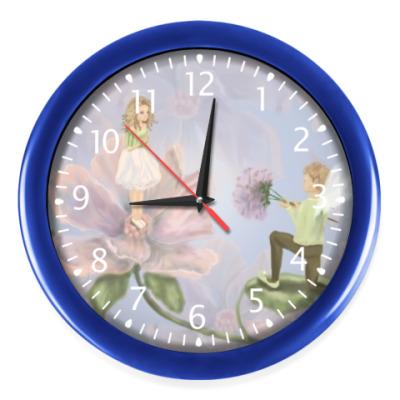 Настенные часы Дюймовочка