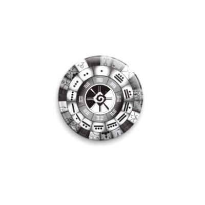 Значок 25мм  символы Майя