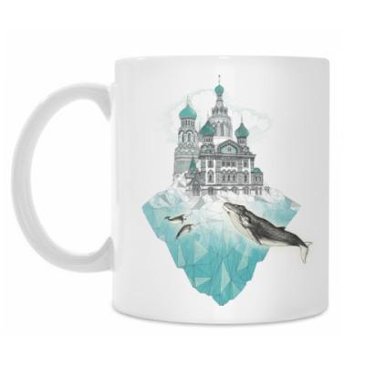 Кружка Зимний Санкт-Петербург
