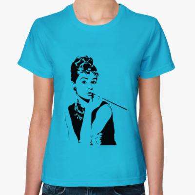 Женская футболка Audrey Hepburn