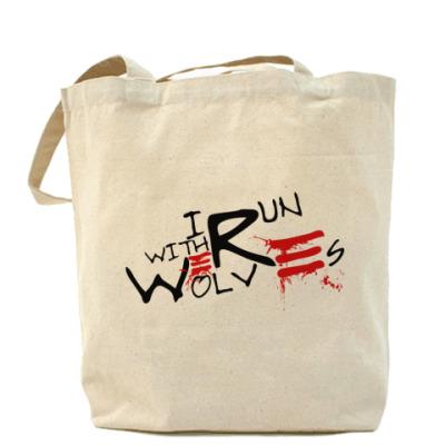 Werewolf 2side Холщ сумка