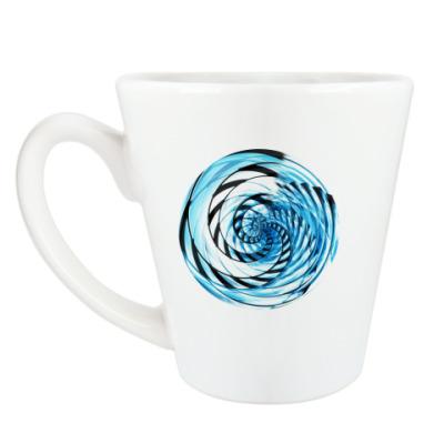 Чашка Латте спираль
