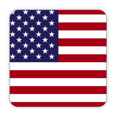 Костер (подставка под кружку) США, USA, Америка