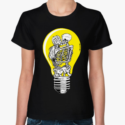 Женская футболка Сияние