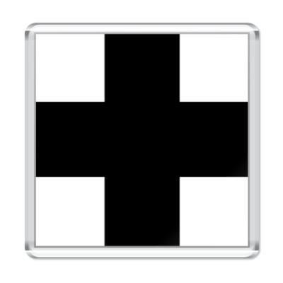 Магнит  «Черный Крест»
