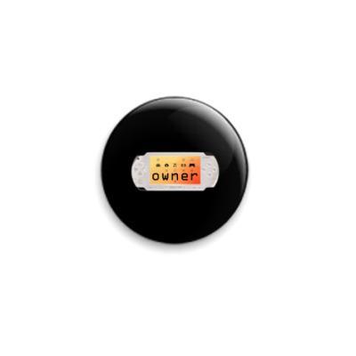 Значок 25мм  'PSP owner'