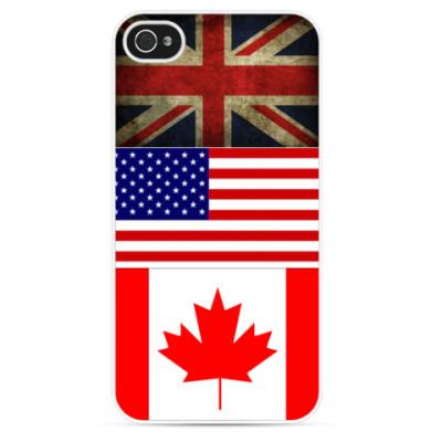 Чехол для iPhone Флаги