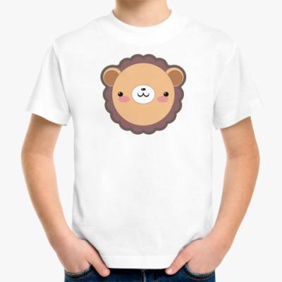 Детская футболка  'Лев'