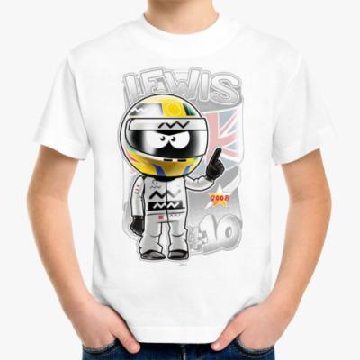 Детская футболка Lewis № 10