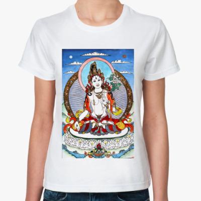 Классическая футболка   Белая Тара