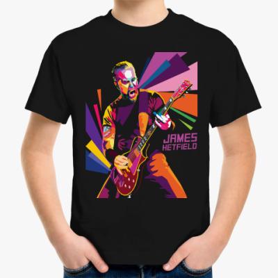 Детская футболка James Hetfield