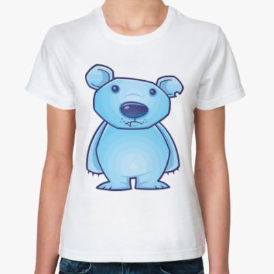 Классическая футболка Мишка
