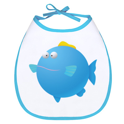 Слюнявчик Рыба