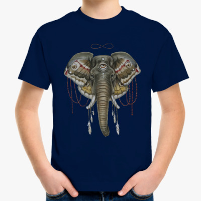 Детская футболка Индийский слон