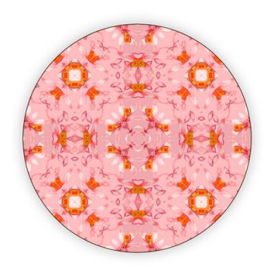 Костер (подставка под кружку) Нежный абстрактный дизайн