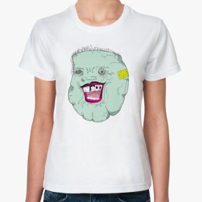 Классическая футболка Дед Мороз Без Бороды