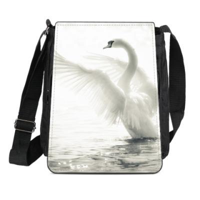 Сумка-планшет Лебедь