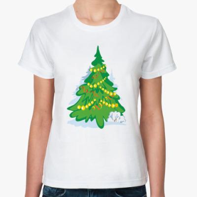 Классическая футболка 'ёлка'