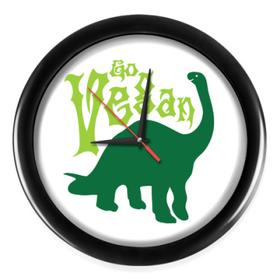 Настенные часы Go Vegan