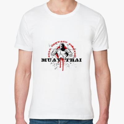 Футболка из органик-хлопка Муай Тай