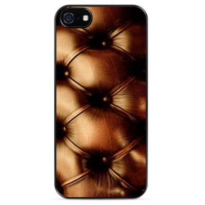 Чехол для iPhone Кожаный дизайн - модная тема