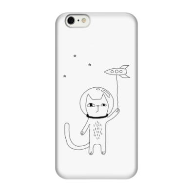 Чехол для iPhone 6/6s Космический кот