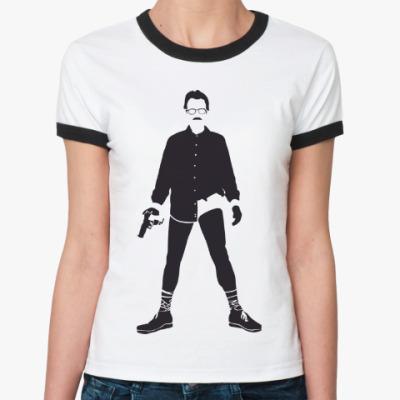 Женская футболка Ringer-T Walter White