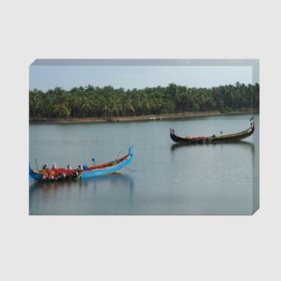 Холст People and boats