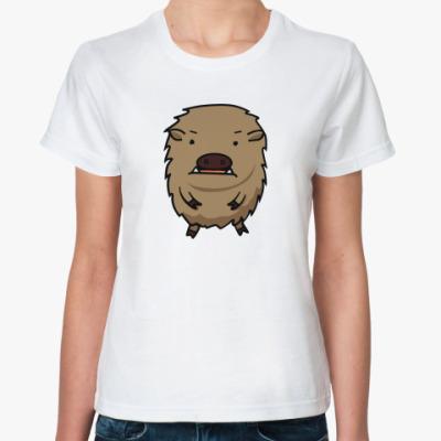 Классическая футболка 'Кабан'