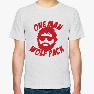 Футболка  Человек-волчья стая