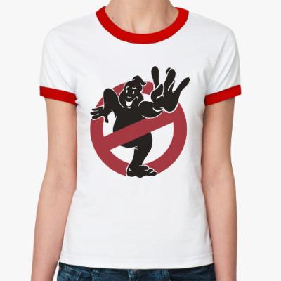 Женская футболка Ringer-T West Ghost